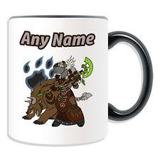 Personalised Gift Tauren Druid Mug Money Box Cup World Warcraft WOW Game Female