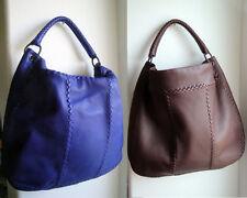 0768 Bottega Veneta Big Shoulder Bags 1 Purple, 1 Light Brown