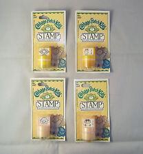 Cabbage Patch Kids Vintage 1983 -  4  Piece Set  Stamps