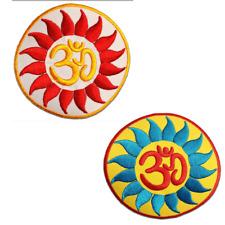 Toppe termoadesive - Om simbolo spirituale Hindu Meditation - diversi colori sel