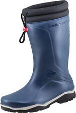 Dunlop Thermostiefel Blizzard blau Winterstiefel  Gummistiefel gefüttert