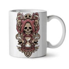Death Horror Skull NEW White Tea Coffee Mug 11 oz   Wellcoda
