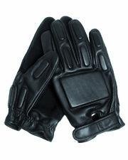 Mil-Tec Security Handschuhe Ziegenleder, schwarz, verschiedene Größen