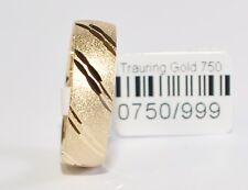 1 Trauring Ehering Hochzeitsring Gold 333 - Breite 6mm - Sonderangebot - Top !