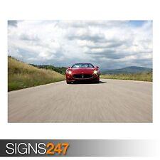 MASERATI GRANCABRIO SPORT ON (AB638) CAR POSTER - Poster Print Art A0 A1 A2 A3