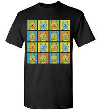 Cairn Terrier Cartoon Pop-Art T-Shirt - Men Women Youth Tank Short Long Sleeve
