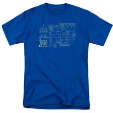 Batman 75th Year Anniversary Batmoblie DC Comics Licensed Adult Shirt S-3XL
