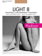 """Hudson """"Light 8"""" Strumpfhose transparent, leicht schimmernd"""