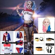 Simil Harley Suicide Vestito Carnevale Donna Cosplay Woman Costume SQA001
