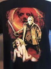 Jason Friday The 13th EXCLUSIVE T-shirt Horror Slashers Vorhees Krueger myers