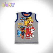 6237 Camiseta PAW PATROL tirantes gris