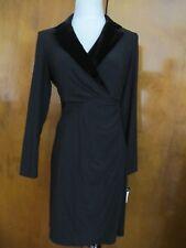 Ralph Lauren women's black evening NWT dress size 12P 14