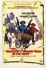 69946 Wackiest Wagon Train in the West Bob Denver FRAMED CANVAS PRINT AU