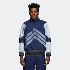 adidas Originals V stripes Windbreaker Jacket NEW men CE4817 navy black grey