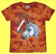 T-Shirt 3x Pferd, Pferde-Freunde Gr.86*92*98*104*146*152, Cowboy Pony Fan Reiter