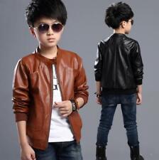 7737 New Boys coat Kids Long-sleeve jacket children parkas overcoat gift S3-14Y