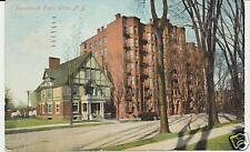 Kanatenah Flats, Utica, N.Y. New York. Apartment Bldg.
