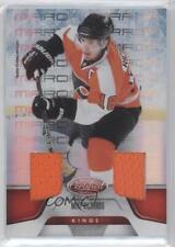 2011 Panini Certified Mirror Red Dual Materials Memorabilia 9 Mike Richards Card