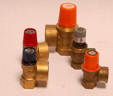 """Membran- Sicherheitsventil für Wasser, für Heizung, 2,5 ....10 bar 1/2""""...1"""""""
