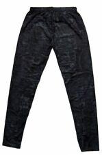Leggings femmes noir gris élastique style jean pantalon skinny