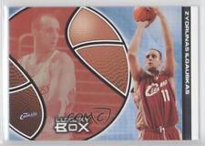 2004 Topps Luxury Box Season Tickets #45 Zydrunas Ilgauskas Cleveland Cavaliers