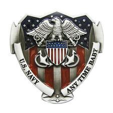 Vintage Men Belt Buckle US Navy Belt Buckle Gurtelschnalle Boucle de ceinture