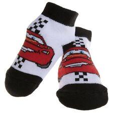 Cars - Lightning Mcqueen Black Baby Socks