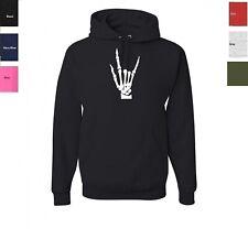 Skeleton Hand Sweatshirt Hoodie SIZES S-3XL