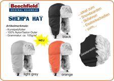 Beechfield Sherpa Skimütze Pilotenmütze Wintermütze Mütze Trappermütze Fellmütze