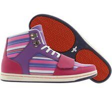 $115 Creative Recreation Womens Cesario (grape stripes Premium Fashion Sneakers