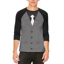 Halloween 20's Gangster Costume Mens Raglan T Shirt