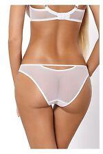 Culotte blanche femme lingerie-sexy slip transparent PARIPARI abby