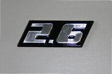 BMW Hartge 2.6 Typenschild e32 e31 e38 e39 e34