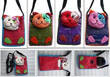 Kinder Brustbeutel Geldbeutel Brusttasche Katzen Tasche Katze design Mädchen neu