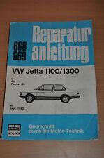 VW Jetta 1100 1300 L GL E ab September 1980 Reparaturanleitung B668 Handbuch X