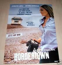 Filmposter A1 Neu Plakat Bordertown - Jennifer Lopez