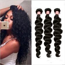 Loose Deep Wave Remy Human Hair Indian Extensions 3Bundles/150g Virgin Hair Weft