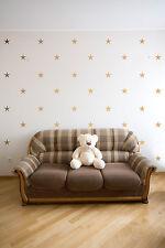 Star Stars Wall Stickers Removable Decals Modern Nursery Decor Pattern