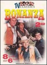 BONANZA - 2 DISC SET - TV Classics 8 Episodes Over 6 Hours of Video