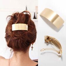Women's Metal Hair Clips Hairpin Hair Pins Barrette Ponytail Grips Accessories