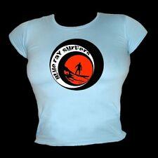 BLU RAY surfisti 8 PALLA stile - SURF & Spiaggia T-Shirt Donna tutte le taglie