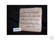 Christian Laser Engraved Ceramic Tile Psalm 147:11