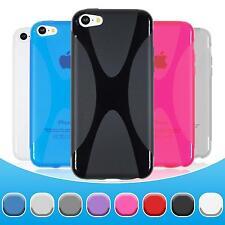 Funda de silicona Apple iPhone 5c X-Style -  + protector de pantalla