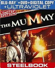 The Mummy (1999)  (Steelbook) (Blu-ray + Blu-ray