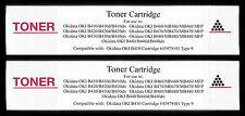 2pk 43979101 Toner Cartridge for Okidata OKI B430 B430d B430dn B440 B440d B440dn