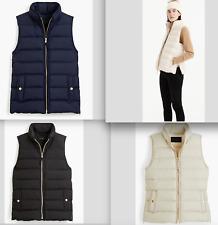 $120-J.Crew Mountain puffer vest-down filling-item H1622-size XXS, M, XL-NWT