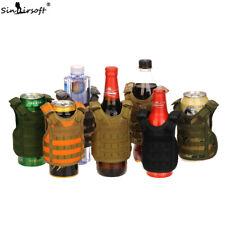 Tactical Shoulder Wine Bottle Cover Vest Adjustable Miniature Molle Carrier Deck