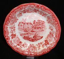 Royal Worcester PALISSY Avon Scenes ROT ~ Schale 13cm /Dessertschale Salatschale