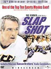 Slap Shot (DVD, 2002, 25th Anniversary Edition) NEW