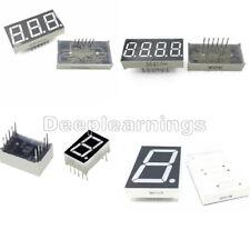 7 Segment 0.56/1.8/0.36 /0.5inch 1/3/4 Digit Common Cathode/Anode Led Display DP